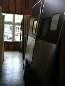 Reused kitchen doors